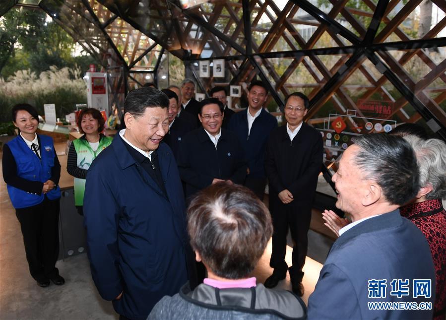 (XHDW)(5)习近平在上海考察调研