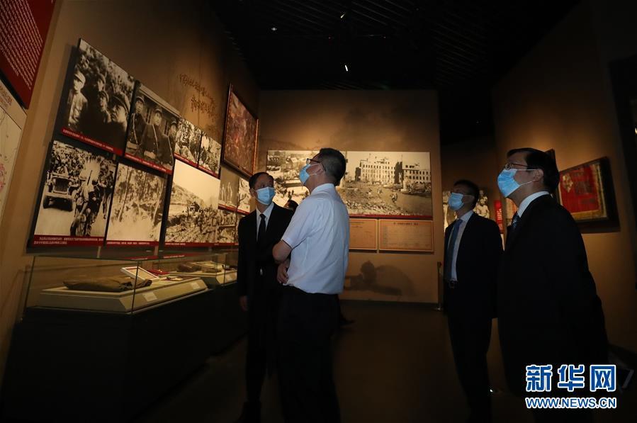 (新华全媒头条·图文互动)(1)祖国·正义·和平——抗美援朝纪念馆巡礼